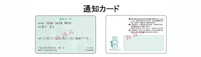 通知カード|出典:内閣府